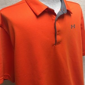 Under Armour Orange Loose Fit Polo
